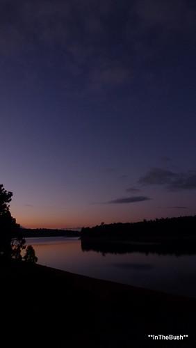 sunset forest dam wa harrisriver lakeballingall