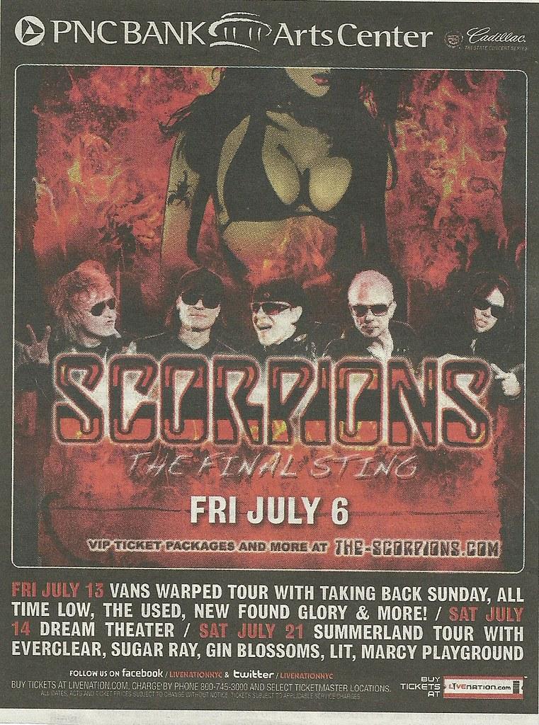 07-06-12 Scorpions/Tesla @ PNC Bank Arts Center, Holmdel
