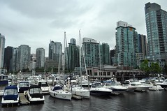 Skyline from Coal Harbour
