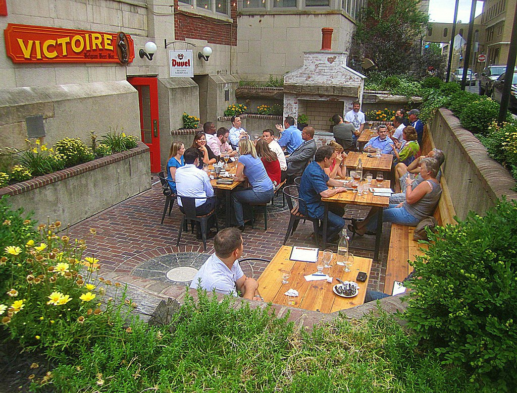 Le jardin de la Victoire   A taste of Brussels in Rochester ...
