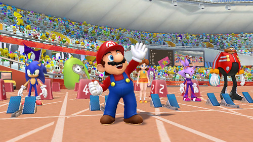 Mario and Sonic at the London 2012 Olympic Games | by gamesweasel