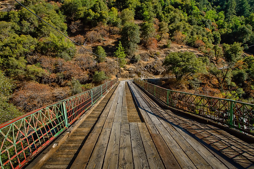 bridge northerncalifornia woodenbridge sierranevadarange edwardscrossing nevadacityca nevadacountyca canon7d lightroom4 topazsw yubariversouthfork
