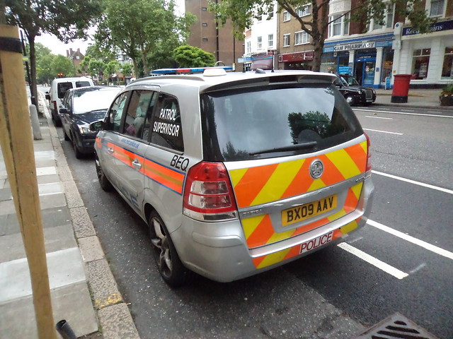 BX09AAV Metropolitan Police