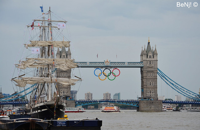 London 2012 - Tower Bridge / Belem
