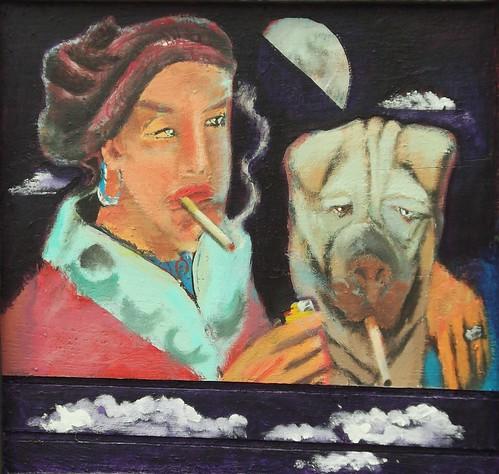 """sharing a smoke""   by stephenbrunelli"