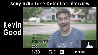 Sony a7Rii Interview Face Detection Auto Focus Test with Kevin Good   by Dave Dugdale