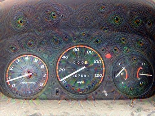 Dusty Dashboard, heavily processed