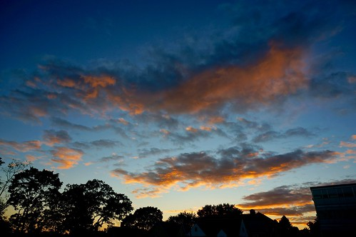 sunset boston clouds ma massachusetts newengland somerville pw
