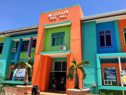 The newly-rehabilitated Medellin Municipal Building (Town Hall) - July, 2015 | by dilg.yolanda