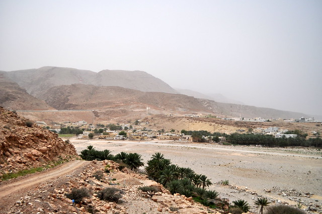 Dust in the wadi