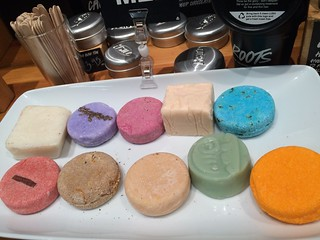 Lush solid cosmetics. | by MetaCookbook