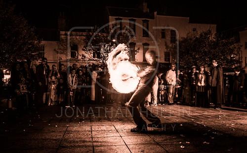 people fire town nikon performance jersey streetperformer channelislands zombiewalk d3000