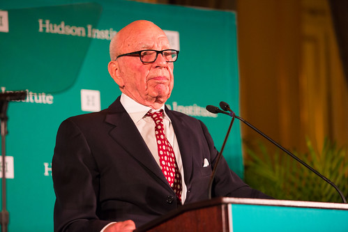 2015 Global Leadership Award Dinner Honoring Rupert Murdoch | by Hudson Institute