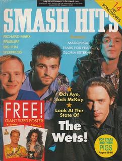Smash Hits, September 20, 1989