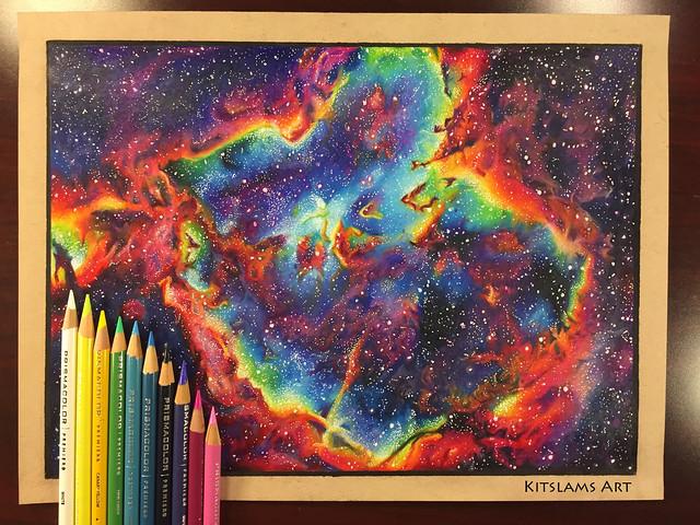 Heart Nebula Drawing