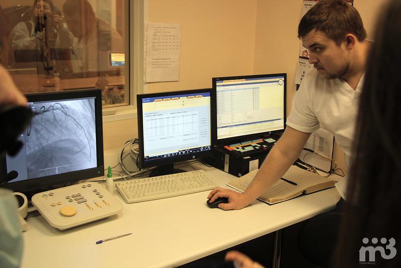 22 - Рентгеновская операционная, пульт управления