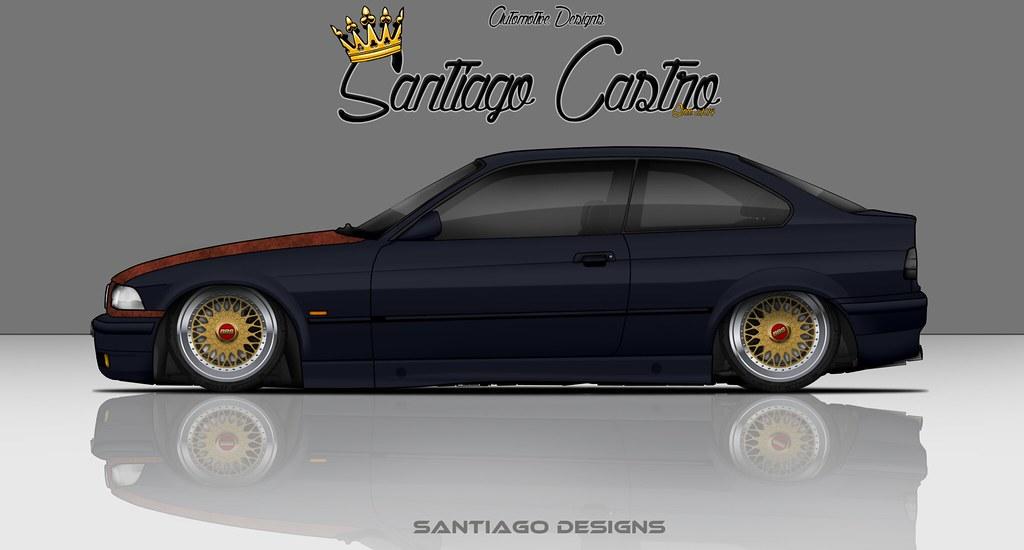 Bmw E36 Compact El Nomade Santiago Castro Disenos Flickr