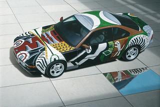 BMW-850-CSi-by-David-Hockney-1995