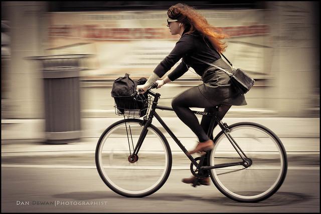 Red Hair Cyclist 24-100