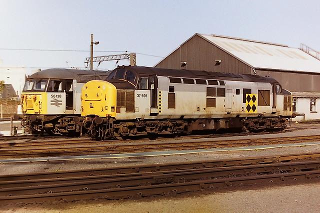 BRITISH RAIL 37695