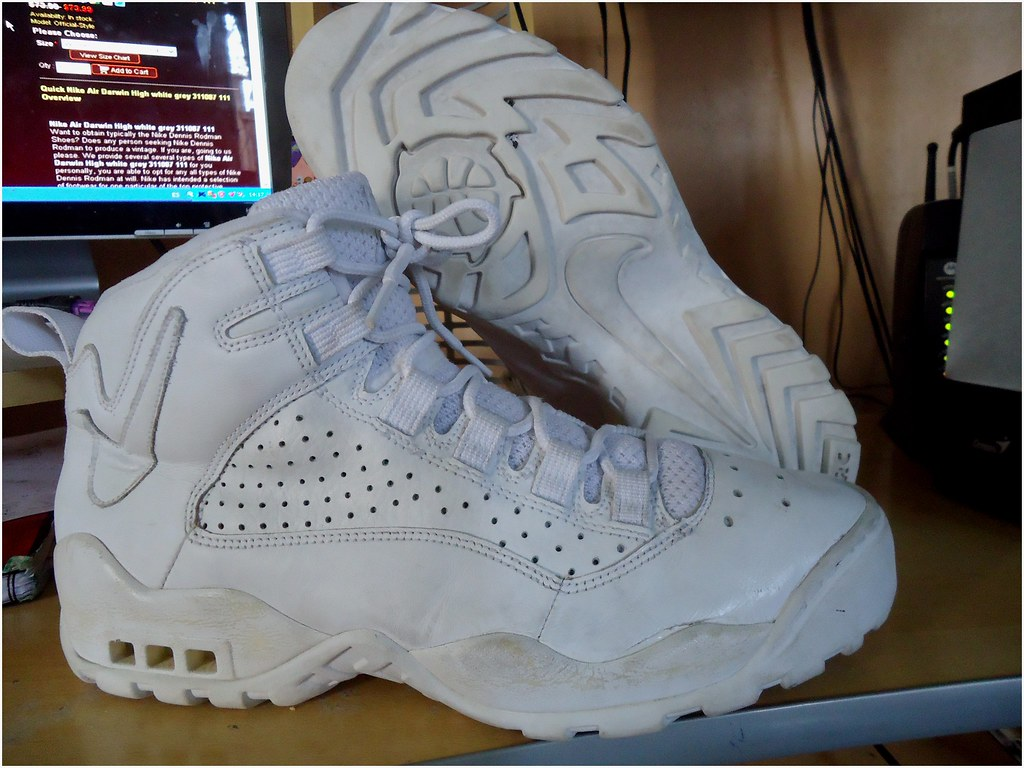 size 40 e4a5d 9d4a6 ... Nike Air Darwin High Nº12 ( Dennis Rodman)   by Tranmision De Fe