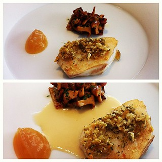 Everything I love on a plate. Fish, mushroom, bacon. And ketchup! | by Manne