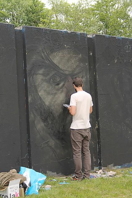 Graffiti artist @ Step in the Arena (Eindhoven)
