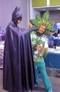 "Batman says ""NO"" to drugs!"