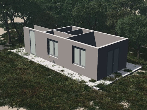 House Plan 3D Foliage   by aidans pics