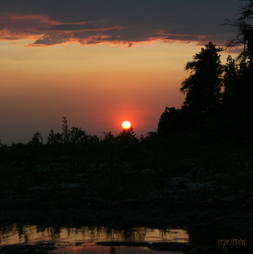 sunset ontario canada spindrift brucepeninsula lakehuron whiskeyharbour 10faves dblringexcellence
