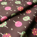 Fabric Finders #928 Trees on Chocolate