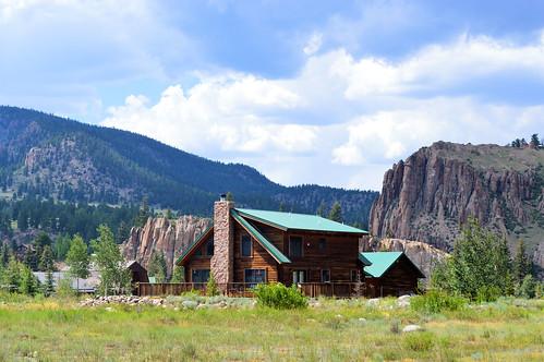 mountains cabin colorado
