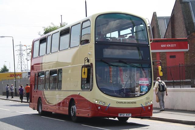 551 BF12KXT Brighton & Hove