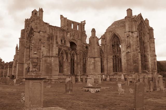 Melrose Abbey. (IMG_1381)