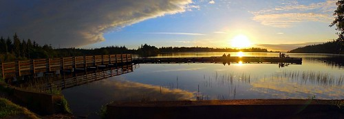 Cranberry Lake - Dock at Sunset | by b gallatin