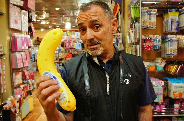 Is that a banana in your