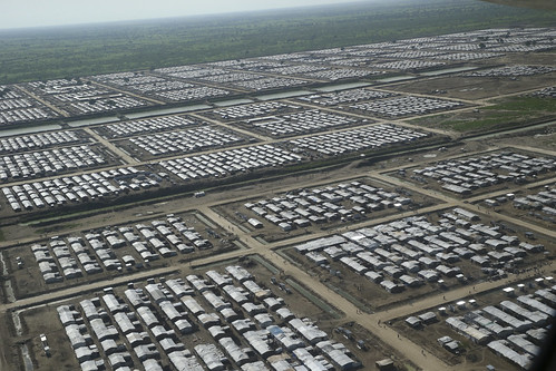 Aerial View of Bentiu Protection of Civilians Site, South Sudan | by United Nations Photo