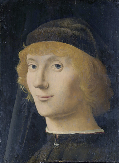 Antonello da Messina - Portrait of a young man [1472]