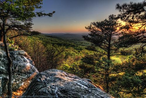 sunset usa mountain tree landscape virginia nikon bearsden bluemont tomlussier