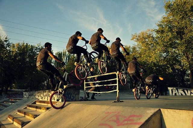 salto bici