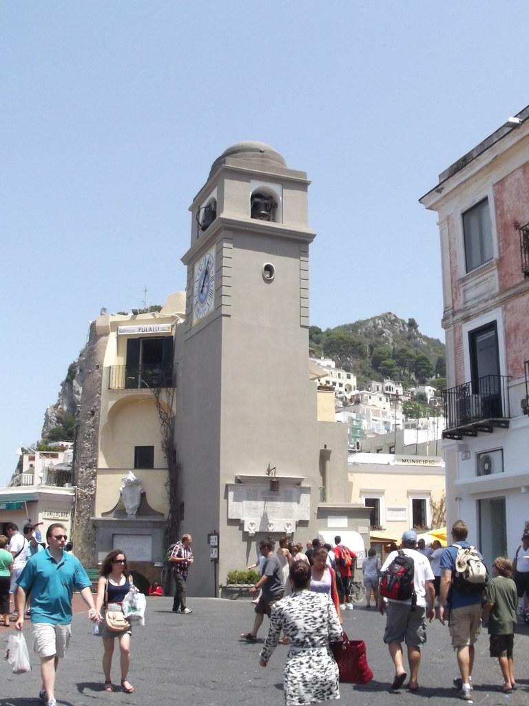 The Pizzetta, Capri - Watch Tower
