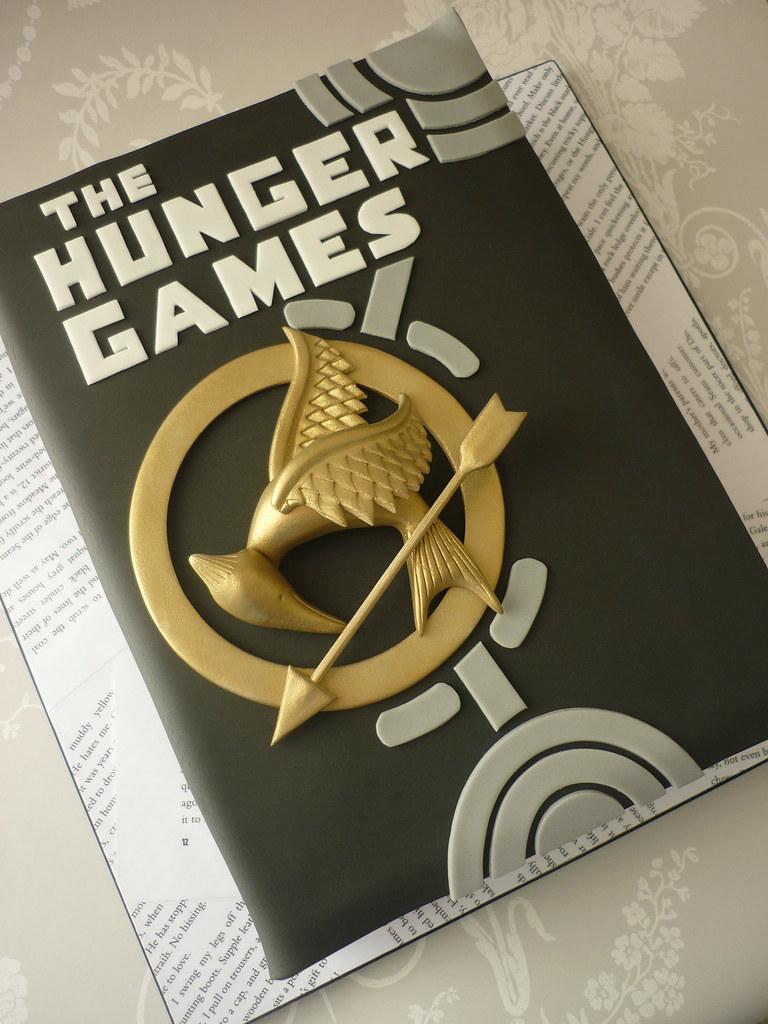 Enjoyable Hunger Games Birthday Cake I Made This Cake For My Boyfrie Flickr Funny Birthday Cards Online Elaedamsfinfo