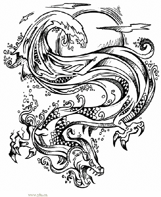 Chinese zodiac dragon | It is a Chinese dragon! The Chinese … | Flickr