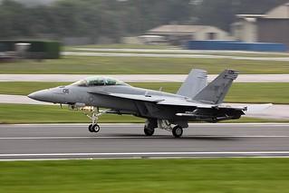 F18 Super Hornet - RIAT 2012   by Airwolfhound