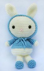 coniglietto cake amigurumi (tutorial-schema)/How to crochet rabbit ... | 239x148