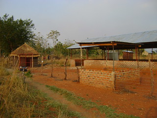 Composting facility, general view