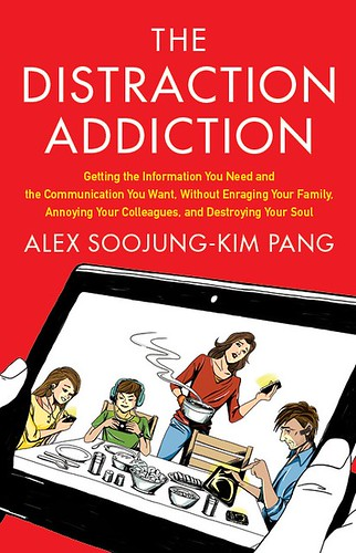 The Distraction Addiction book cover | by askpang
