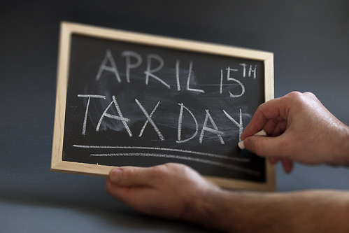 April 15th - Tax Day - on a chalkboard | by efile989