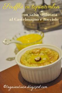 soufflé topinambur castelmagno e nocciole | by mammadaia