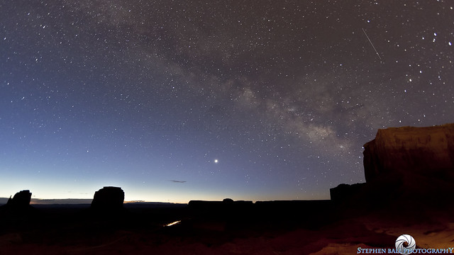 Monument Valley Shooting Star